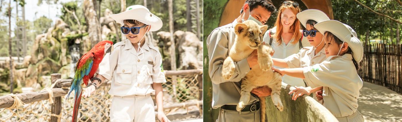 Trải nghiệm cảm giác trở thành một nhà động vật học tại Vinpearl Safari