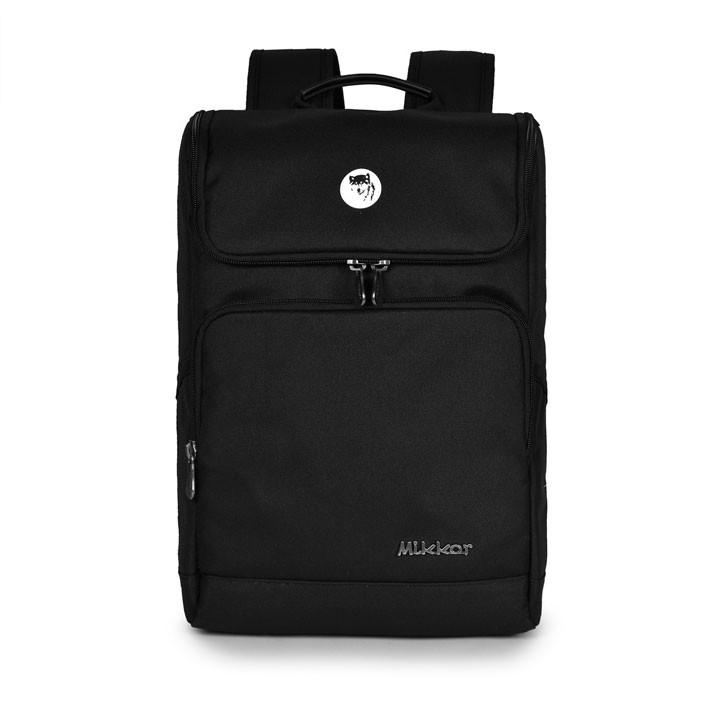 Mikkor The Normad Primier Backpack M Black 1