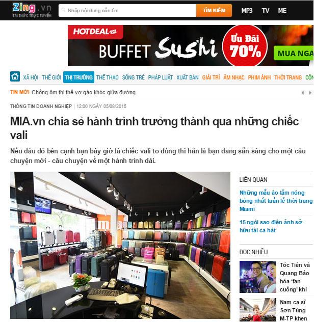 Truyền thông Việt Nam nói gì về MIA.vn
