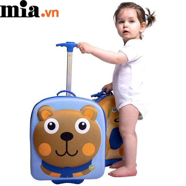 Lưu ý khi chọn vali kéo cho trẻ em để an toàn cho bé