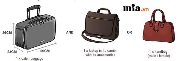 Những quy định chung cần lưu ý về hành lý xách tay của các hãng hàng không