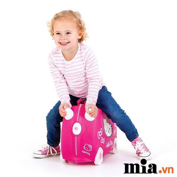 Review Vali Hello Kitty chính hãng – Vali Trunki – Vali trẻ em dành cho bé
