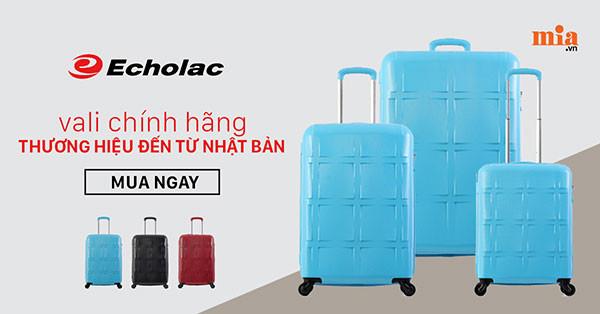 Echolac - Thương hiệu vali Nhật đứng đầu thị trường Châu Á