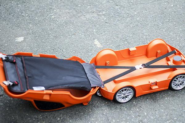 Review vali kéo trẻ em Welitec Car - Combo Familly giá hấp dẫn