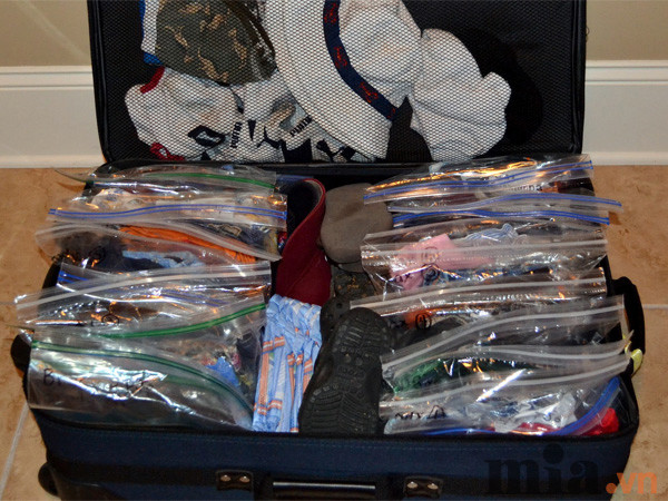 Cách xếp đồ vào vali – Vali kéo du lịch