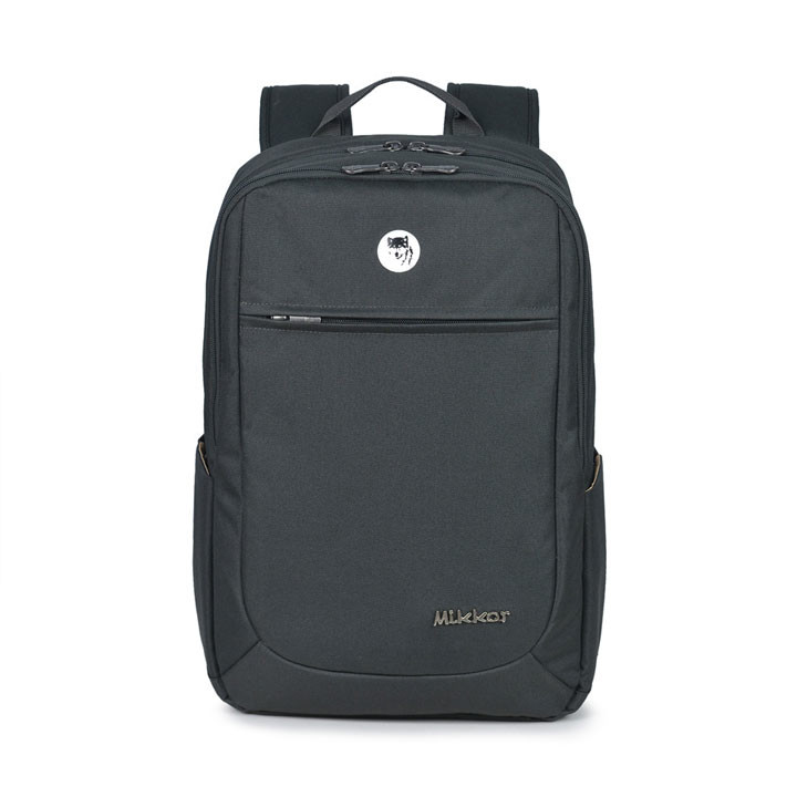 Mikkor The Edwin Backpack M Charcoal 1