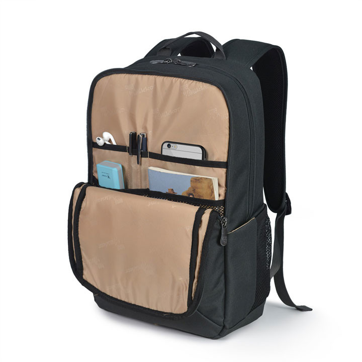 Mikkor The Edwin Backpack M Charcoal 5