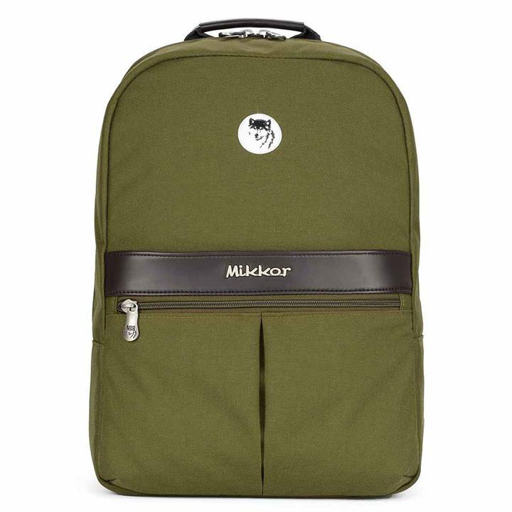 Mikkor The Elvis Backpack M Green 1