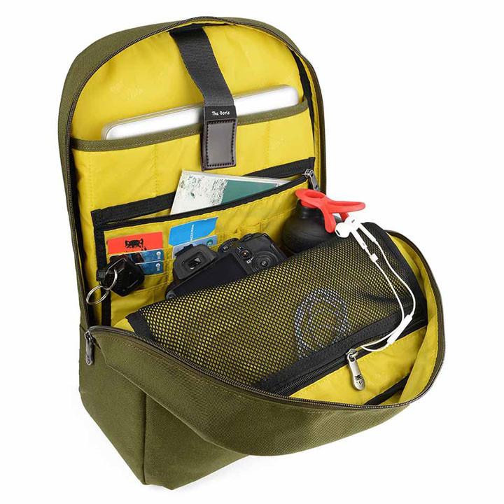 Mikkor The Elvis Backpack M Green 4