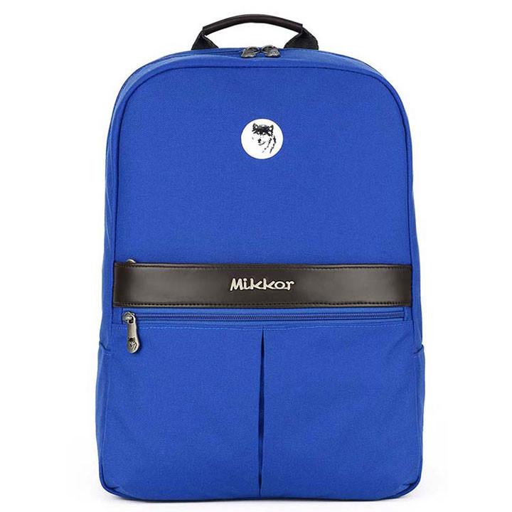 Mikkor The Elvis Backpack M Royal Blue 1