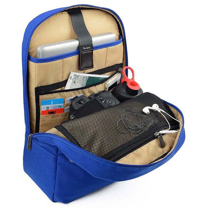 Mikkor The Elvis Backpack M Royal Blue 4