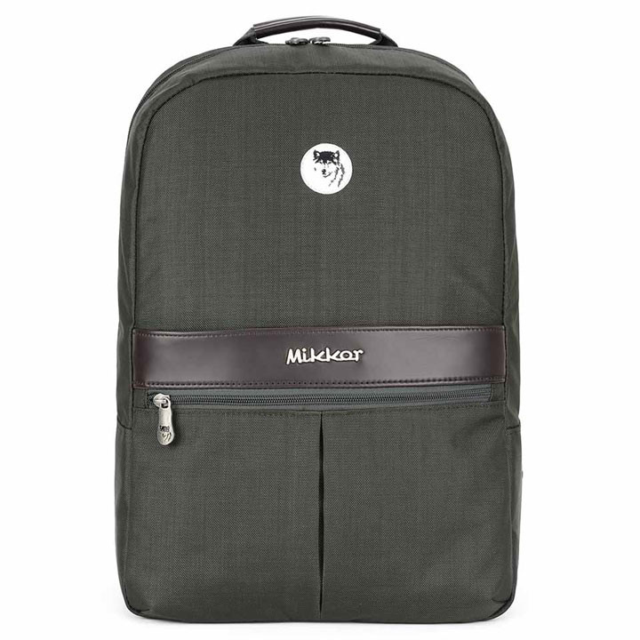 Mikkor The Elvis Backpack M Charcoal 1
