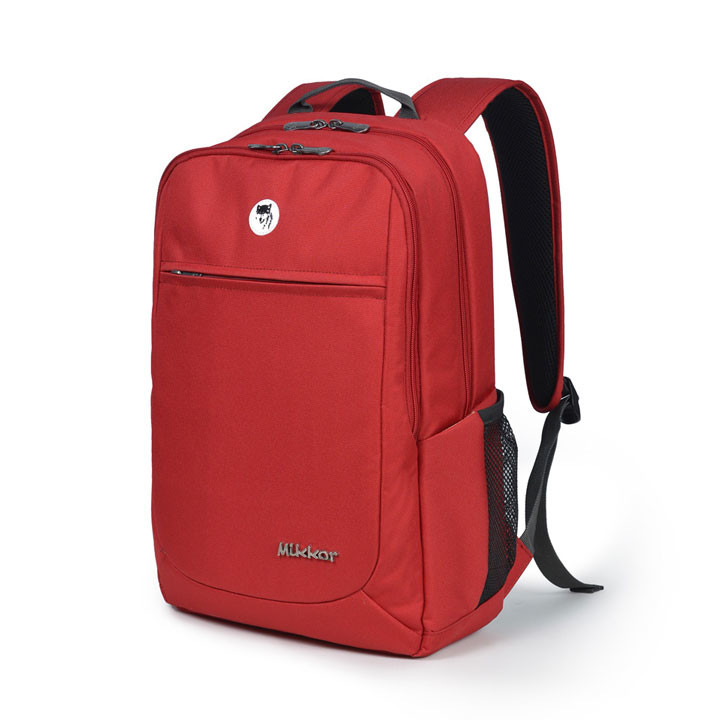 Mikkor The Edwin Backpack M Red 2