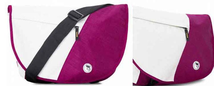 Mikkor Laptop Dily Oranger M Pink/White 1