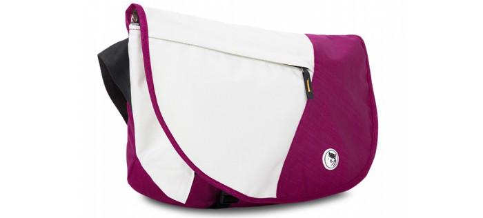 Mikkor Laptop Dily Oranger M Pink/White 2