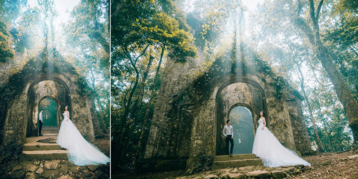 Những địa điểm chụp ảnh cưới ngây ngất lòng người