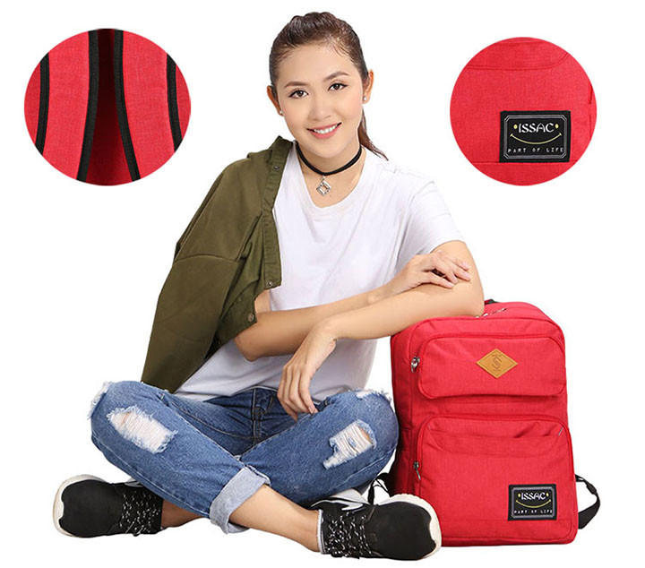 Balo Simplecarry Issac 1 S Dark Red