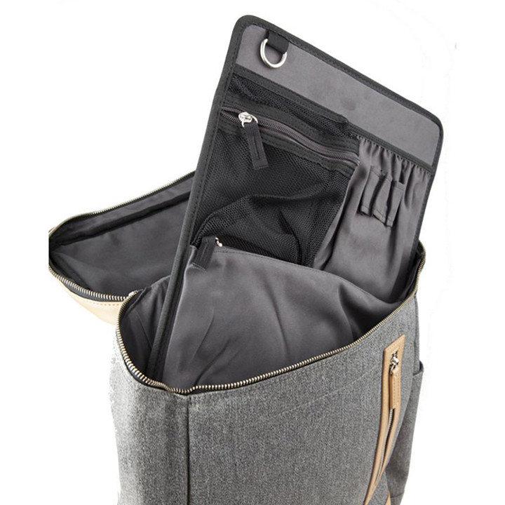venque-amsterdam-backpack-m-grey