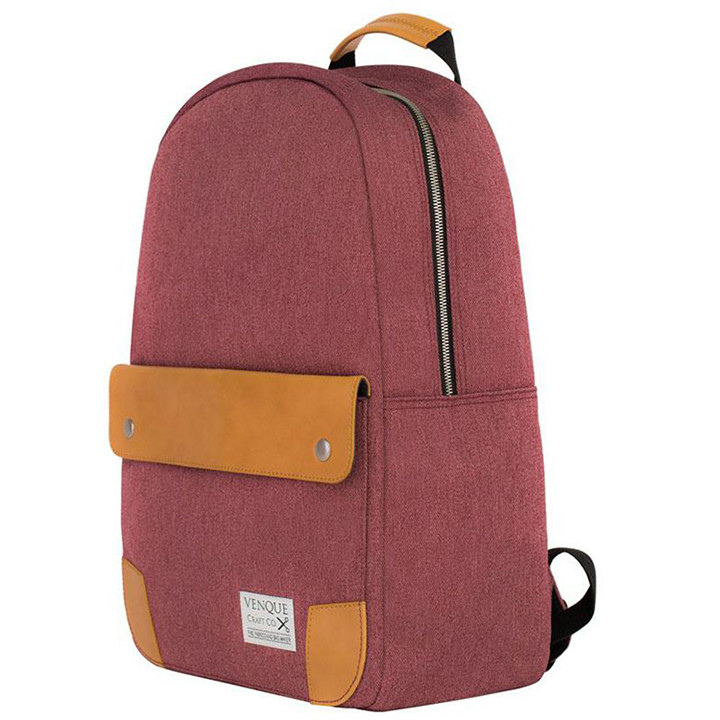 venque-classic-bBackpack-m-red