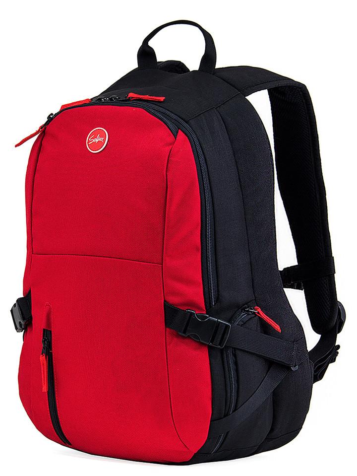 Seliux-F2-Banshee-Backpack-M-Black-Red