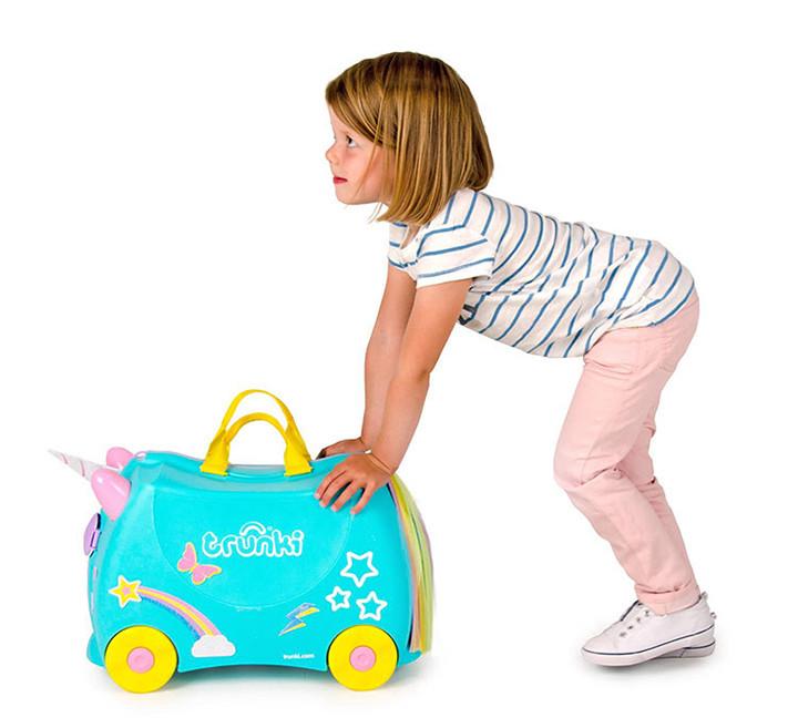 Trunki Vali trẻ em - Kỳ lân Una M Blue