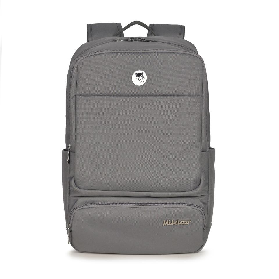 mikkor-the-royce-backpack-m-dark-mouse-grey