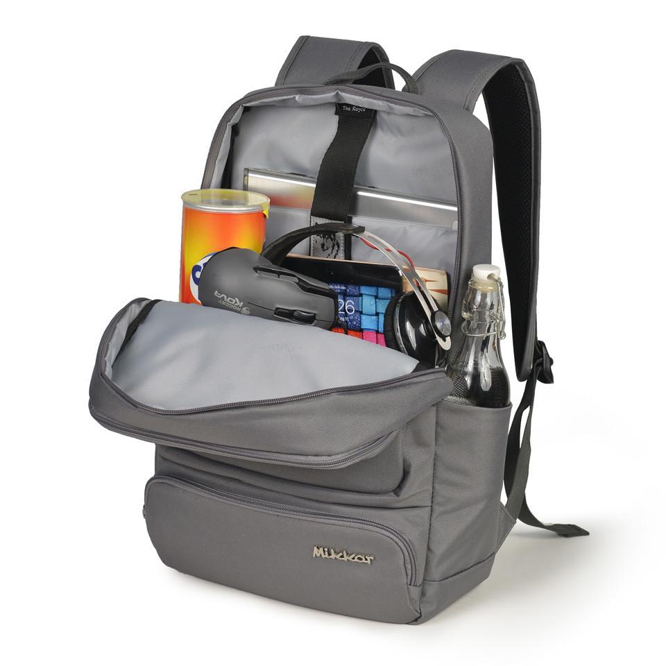 mikkor-the-royce-backpack-m-dark-mouse-grey6