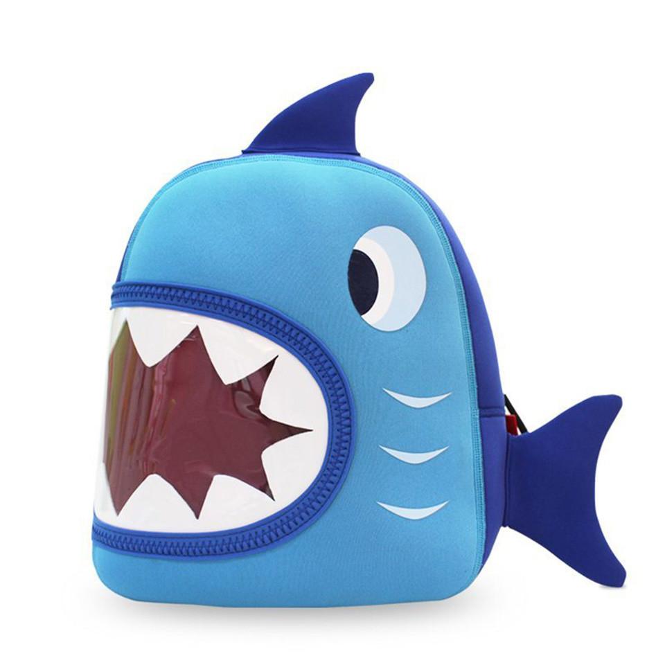 nohoo-shark-nh024-backpack-s-blue