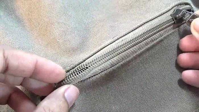 dây khóa kéo vali bị hỏng