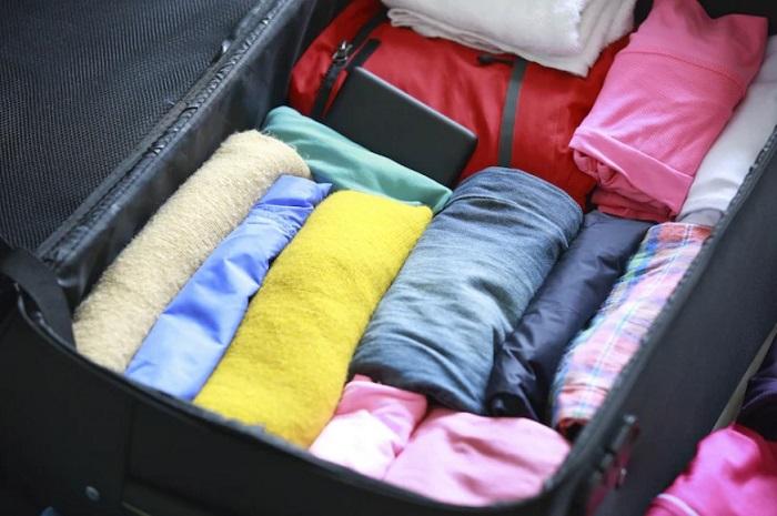 mẹo xếp đồ vào vali