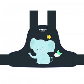 Phụ kiện khác Bunny Land Đai xe máy trẻ em và chống đi lạc Elephant S Grey