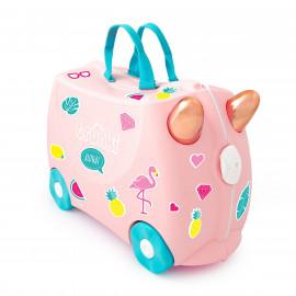 Vali Trunki Hồng hạc Flossi 0353-GB01 M Pink